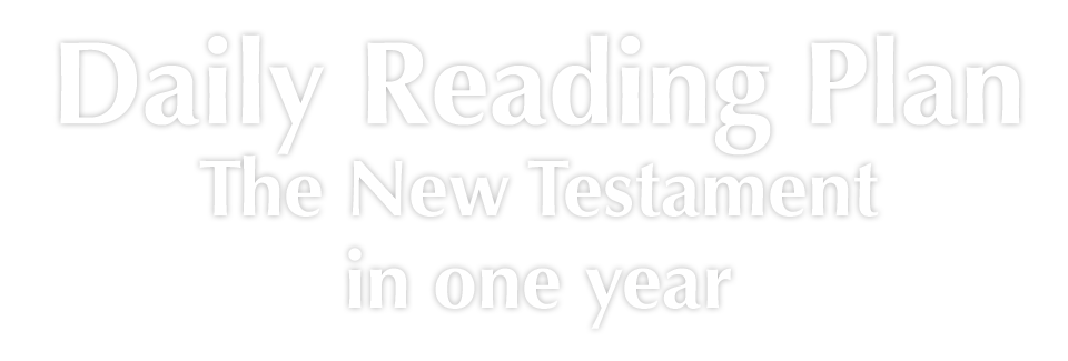 New Testament Reading Plan
